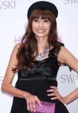 "『SWAROVSKI presents""House of Hello Kitty""』のオープニングレセプションに出席した、ヨンア (C)ORICON DD inc."