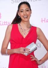 "『SWAROVSKI presents""House of Hello Kitty""』のオープニングレセプションに出席した、森泉 (C)ORICON DD inc."