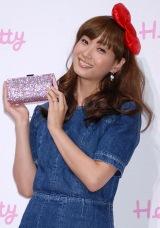 "『SWAROVSKI presents""House of Hello Kitty""』のオープニングレセプションに出席した、藤本美貴 (C)ORICON DD inc."