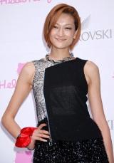 "『SWAROVSKI presents""House of Hello Kitty""』のオープニングレセプションに出席した、冨永愛 (C)ORICON DD inc."