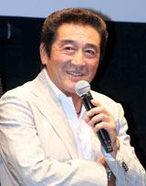 三池崇史監督のトークイベントにゲスト出演した松方弘樹