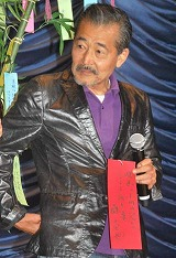 映画『小川の辺』の公開初日舞台あいさつに登壇した藤竜也 (C)ORICON DD inc.