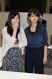 前田敦子と仲川遥香(左)