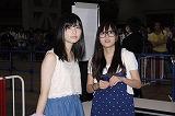 若手メンバーにとっては選抜入りのチャンス(左から:島崎遥香、大場美奈)
