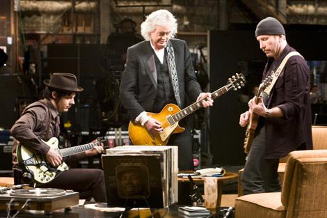 映画『ゲット・ラウド ジ・エッジ、ジミー・ペイジ、ジャック・ホワイト×ライフ×ギター』 (C)2009 Steel Curtain Pictures, LCC, All Rights Reserved