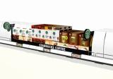 家庭用『スターバックス』ブランド商品の店頭ディスプレイイメージ