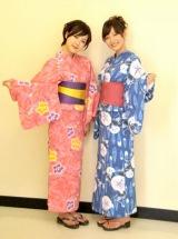 初めての番組収録に臨んだ、TBS新人アナウンサーの古谷有美(左)と吉田明世 (C)ORICON DD inc.