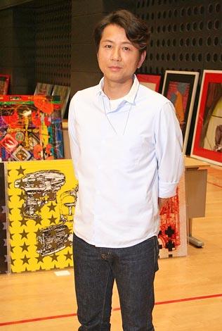 CGを使ったアート作品約100点を出品した『チャリティーアート展』を開催する藤井フミヤ (C)ORICON DD inc.