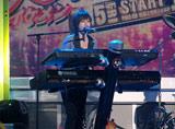 新ドラマ『美男(イケメン)ですね』プレミア制作発表でバンド演奏を披露した瀧本美織