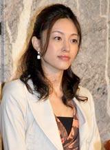 フジテレビ系連続ドラマ『全開ガール』の制作発表会に出席した青山倫子