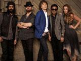 ミック・ジャガー(中央)が結成した新バンド・スーパーヘヴィ