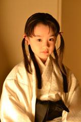 芦田愛菜が7歳で結婚体験&白無垢姿披露(C)NHK