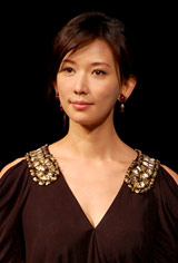 劇団EXILEの第5回舞台公演『レッドクリフ−愛』『レッドクリフ−戦−』の製作発表会見に出席したリン・チーリン