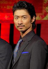 劇団EXILEの第5回舞台公演『レッドクリフ−愛』『レッドクリフ−戦−』の製作発表会見に出席したEXILE・MAKIDAI