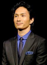 劇団EXILEの第5回舞台公演『レッドクリフ−愛』『レッドクリフ−戦−』の製作発表会見に出席したEXILE・KENCHI