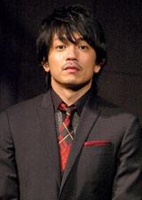 劇団EXILEの第5回舞台公演『レッドクリフ−愛』『レッドクリフ−戦−』の製作発表会見に出席した青柳翔