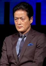 劇団EXILEの第5回舞台公演『レッドクリフ−愛』『レッドクリフ−戦−』の製作発表会見に出席した陣内智則