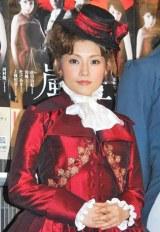 ミュージカル『嵐が丘』の公開舞台稽古を行った安倍なつみ (C)ORICON DD inc.