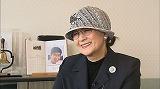 石原裕次郎記念館にてインタビューに応じる石原まき子さん