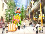 嵐・大野智が演じる「怪物くん」をリアルに再現した、超巨大スライダーがこの夏、東京・汐留に登場