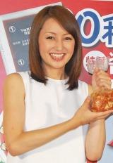 日本食品『から揚げ作り』キャンペーンイベントに出席した矢田亜希子 (C)ORICON DD inc.