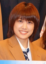 ドラマ『IS(アイエス)〜男でも女でもない性〜』の制作発表会見に出席した福田沙紀、同作で自慢の長髪を20cmバッサリカット (C)ORICON DD inc.