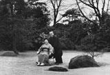 実際の松下幸之助氏とむめのさん夫妻(タイム誌特集時の写真)