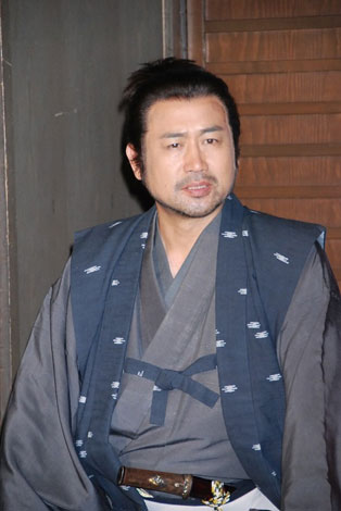 NHK・BS時代劇『塚原卜伝』の会見に出席した永島敏行 (C)ORICON DD inc.
