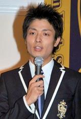 TBS系ドラマ『桜蘭高校ホスト部』の制作発表会に出席した中村昌也