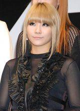 YG FAMILY専用レーベル・YGEX(ワイジーエックス)設立会見に出席した、2NE1・CL (C)ORICON DD inc.