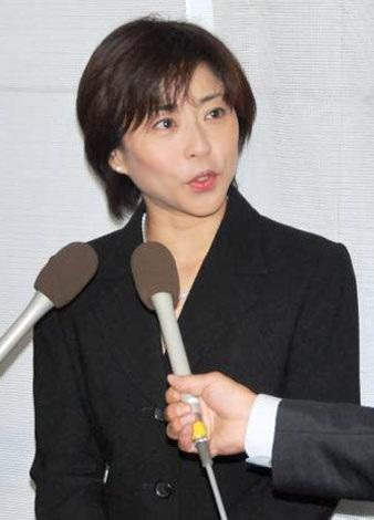 原田芳雄さんの通夜に参列した松本明子 (C)ORICON DD inc.