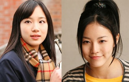SKE48の松井珠理奈(写真右)と矢神久美がそろって映画初出演 (c)WAYA! LLP