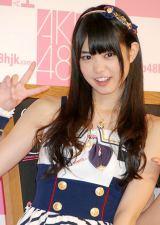 AKB48初の路面店オフィシャルショップ『AKB48 OFFICIAL SHOP HARAJUKU』の記者発表会に出席した前田亜美 (C)ORICON DD inc.