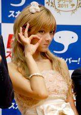 『スカパー!アワード2011』記者発表会に出席したローラ (C)ORICON DD inc.