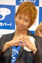 『スカパー!アワード2011』記者発表会に出席した楽しんご (C)ORICON DD inc.
