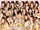 「第3回AKB48選抜総選挙」上位21人をイラストタッチにしたアーティスト写真