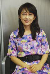 素朴な一面を見せるキャスター・唐橋ユミ (C)ORICON DD.inc