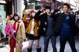 左からペ・スジ(miss A)、IU、キム・スヒョン、オク・テギョン(2PM) Licensed by KBS Media Ltd. (C) 2011 KBS. All rights reserved.