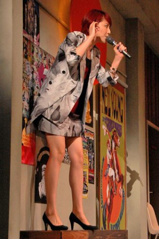 長澤まさみが出演する舞台『クレイジーハニー』の公開けいこの模様 (C)ORICON DD inc.
