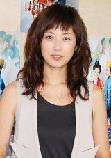昨年9月に女児を出産後、初公の場に登場した高岡早紀 (C)ORICON DD inc.