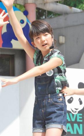 上野動物園で、初の公認シングル「パンダのゆめ」を凱旋初披露した大橋のぞみ (C)ORICON DD inc.