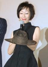原田さんが着用したテンガロンハットとともに、キャスト陣が撮影時のエピソードを明かした (C)ORICON DD inc.