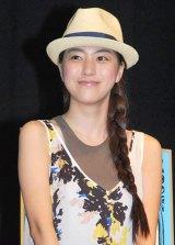 DVD『Happiness is:スヌーピーと幸せのブランケット』発売記念試写会イベントに出席した成海璃子 (C)ORICON DD inc.