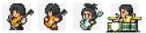 BUMPメンバー4人が『FF』ドットイラストに変身!