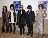 24年ぶりに地元・千葉凱旋ライブを行うX JAPAN(左から、PATA、HEATH、YOSHIKI、ToshI、SUGIZO) (C)ORICON DD inc.