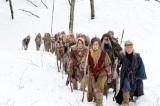 豪雪の山形・庄内でロケを敢行した映画『デンデラ』より (C)2011「デンデラ」製作委員会
