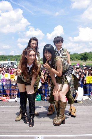 名古屋で2nd シングル「Cry」発売イベントを行ったDiVA