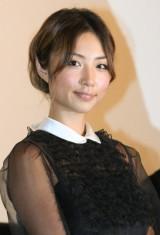 アニメ映画『カンフー・パンダ2』の舞台あいさつに出席したMEGUMI (C)ORICON DD inc.