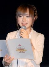 この日司会を務めた紺野あさ美アナウンサー (C)ORICON DD inc.