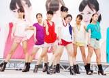 デビュー前イベントでデビュー曲「More Kiss」など全3曲を披露した、中学生アイドルグループ・Fairies (C)ORICON DD inc.